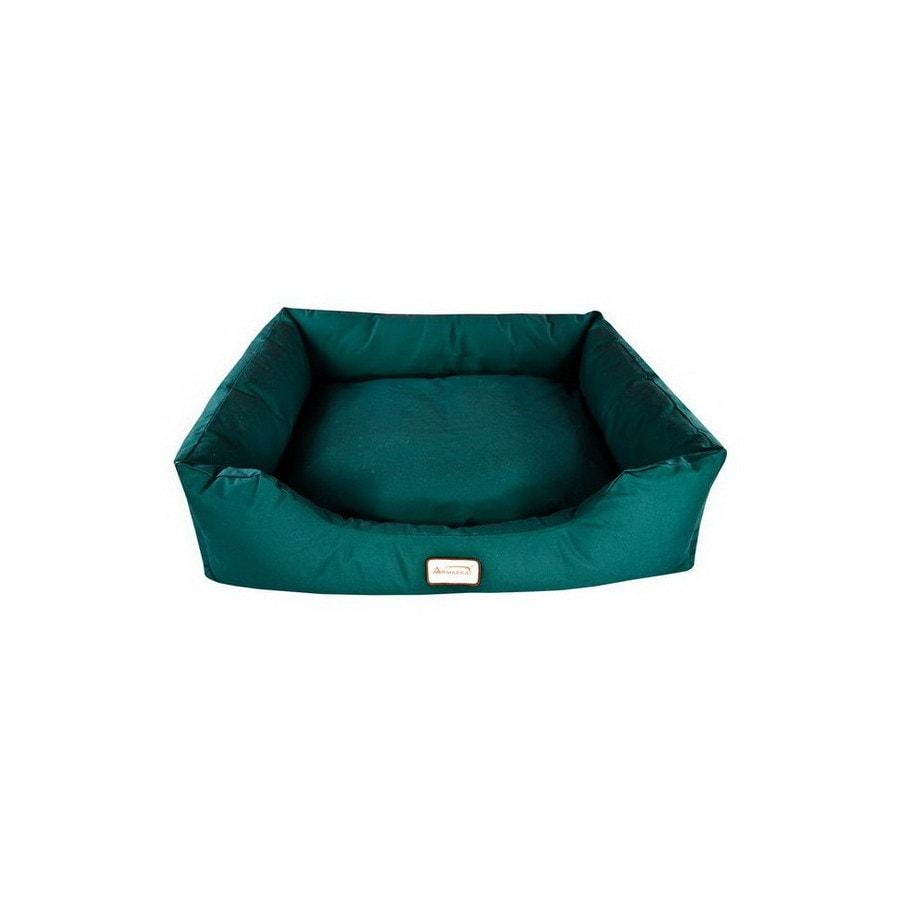 Armarkat Laurel Green Canvas Rectangular Dog Bed