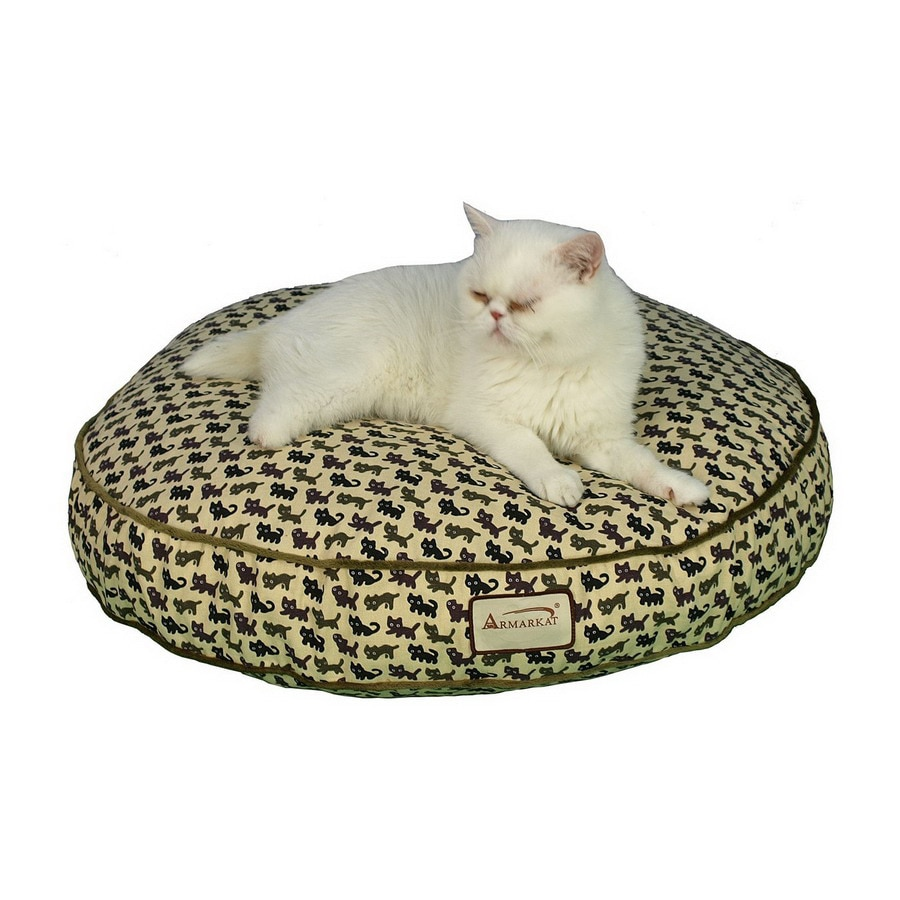 Armarkat Heavy Duty Canvas Round Cat Bed