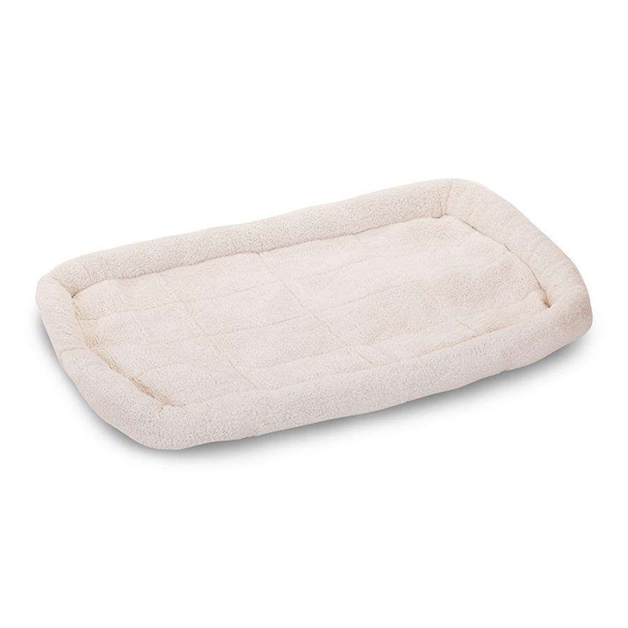 Majestic Pets Cream Sherpa Rectangular Dog Bed
