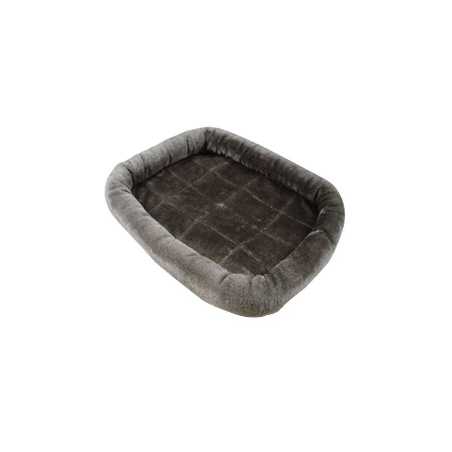Majestic Pets Charcoal Rectangular Dog Bed