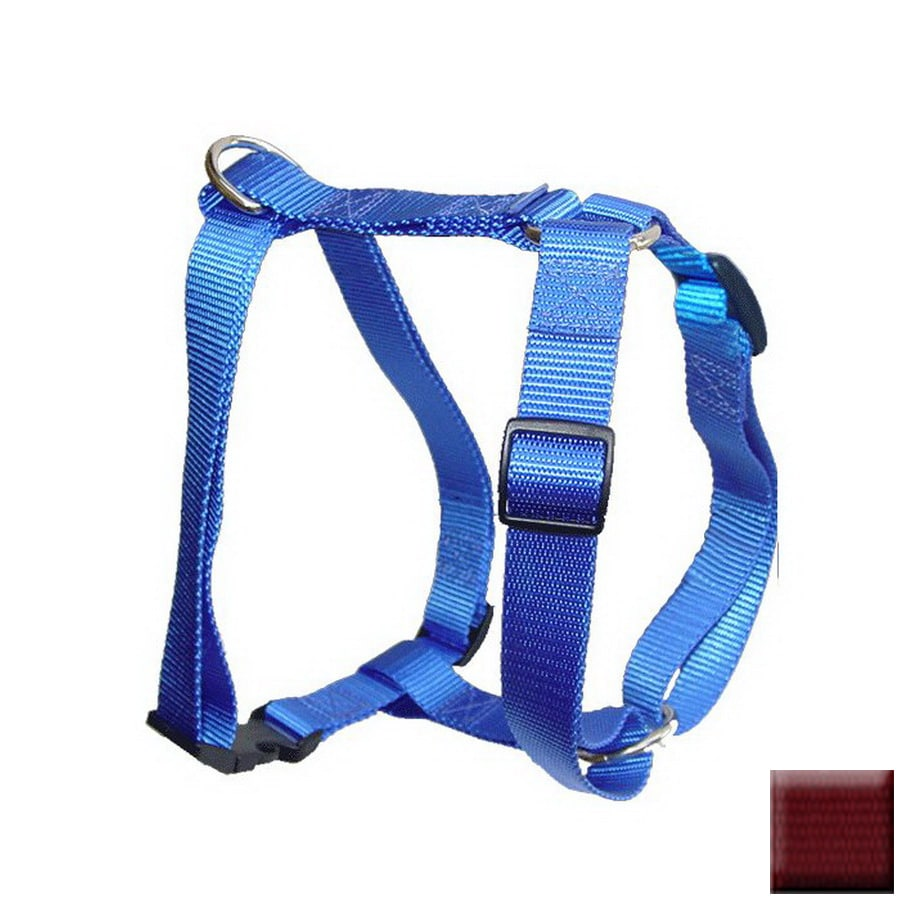 Majestic Pets Burgundy Nylon Dog Harness