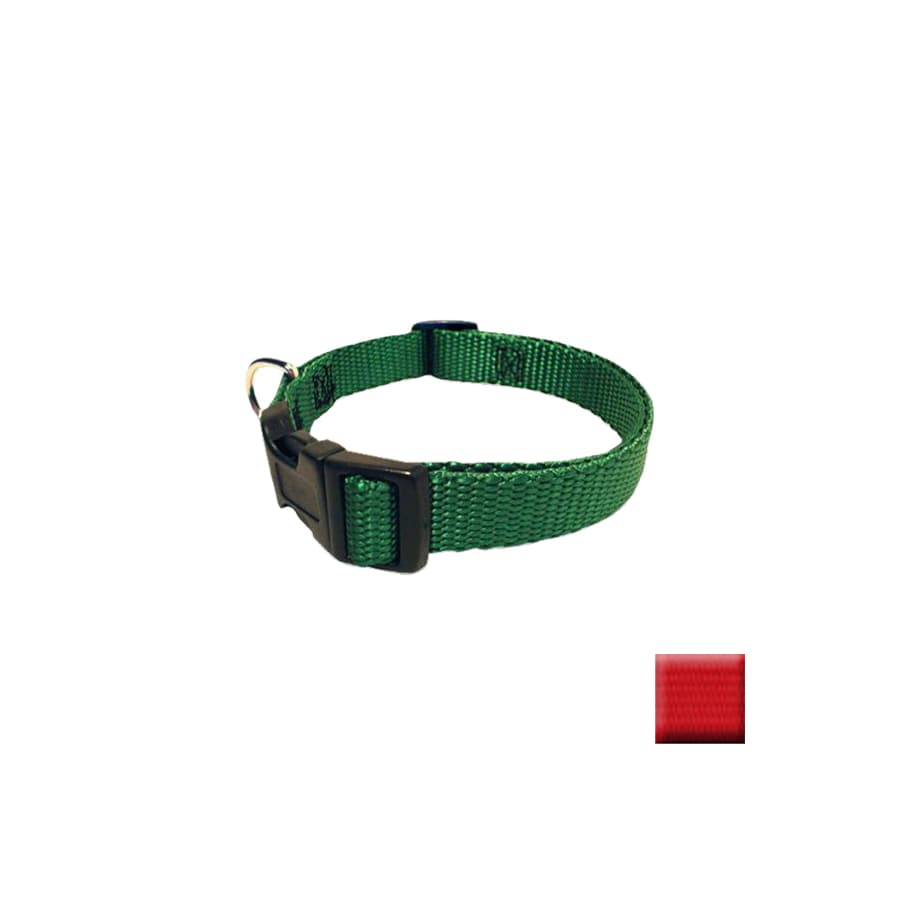 Majestic Pets Red Nylon Dog Collar