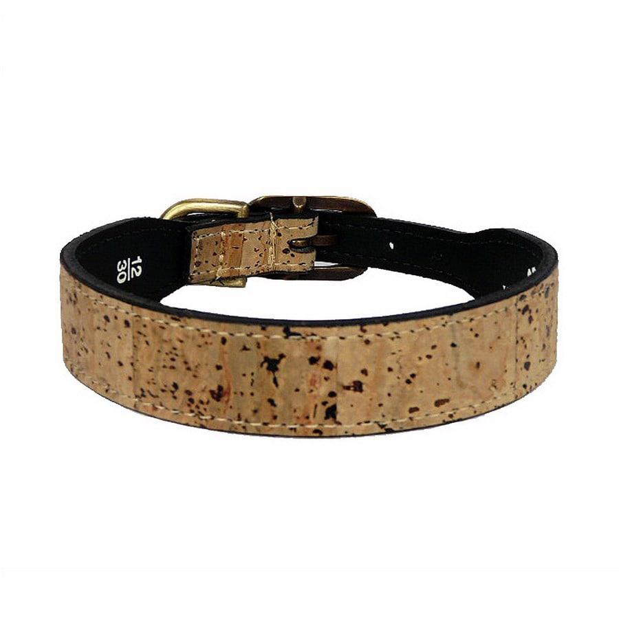Hartman & Rose Natural Leather Dog Collar