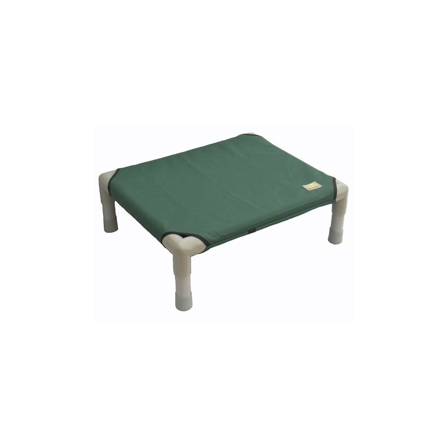 Go Pet Club Green Polyester Rectangular Dog Bed