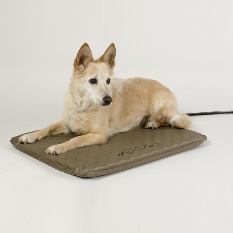 K&H Manufacturing Vinyl with Nylon Coating Rectangular Dog Bed