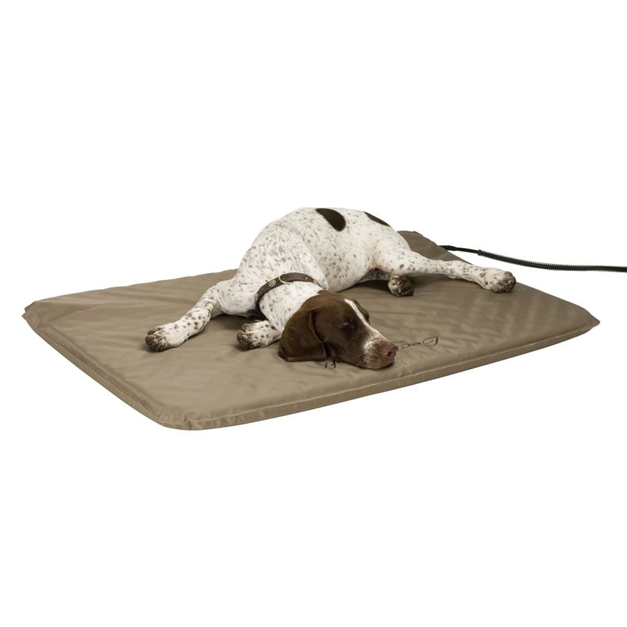K&H Manufacturing Vinyl with Nylon Coating Rectangular Dog Bed