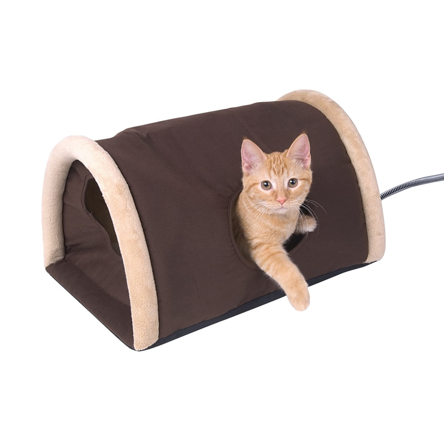 K&H Manufacturing Mocha Polyester/Cotton Cat Bed