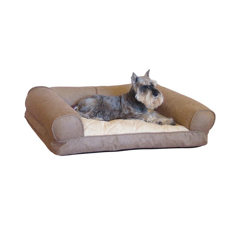 K&H Manufacturing Tan Rectangular Dog Bed