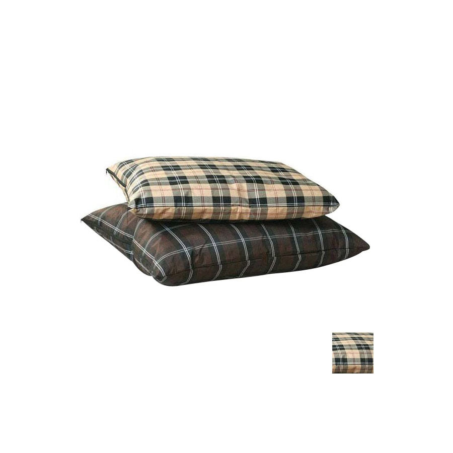 K&H Manufacturing Tan plaid  Rectangular Dog Bed