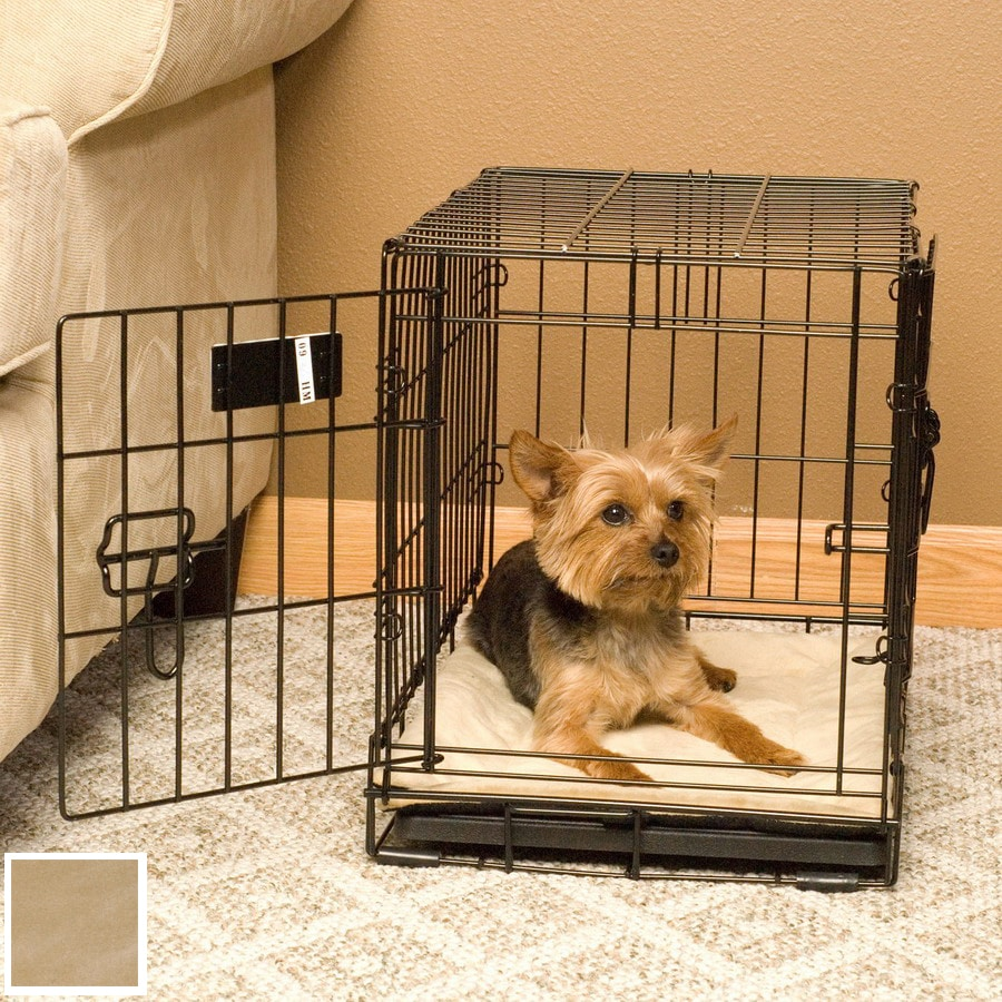 K&H Manufacturing Tan Microfleece Rectangular Dog Bed