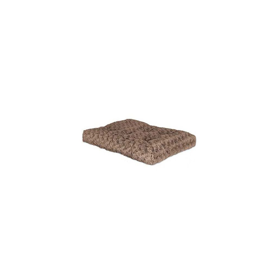 midwest pets Mocha Polyester Rectangular Dog Bed