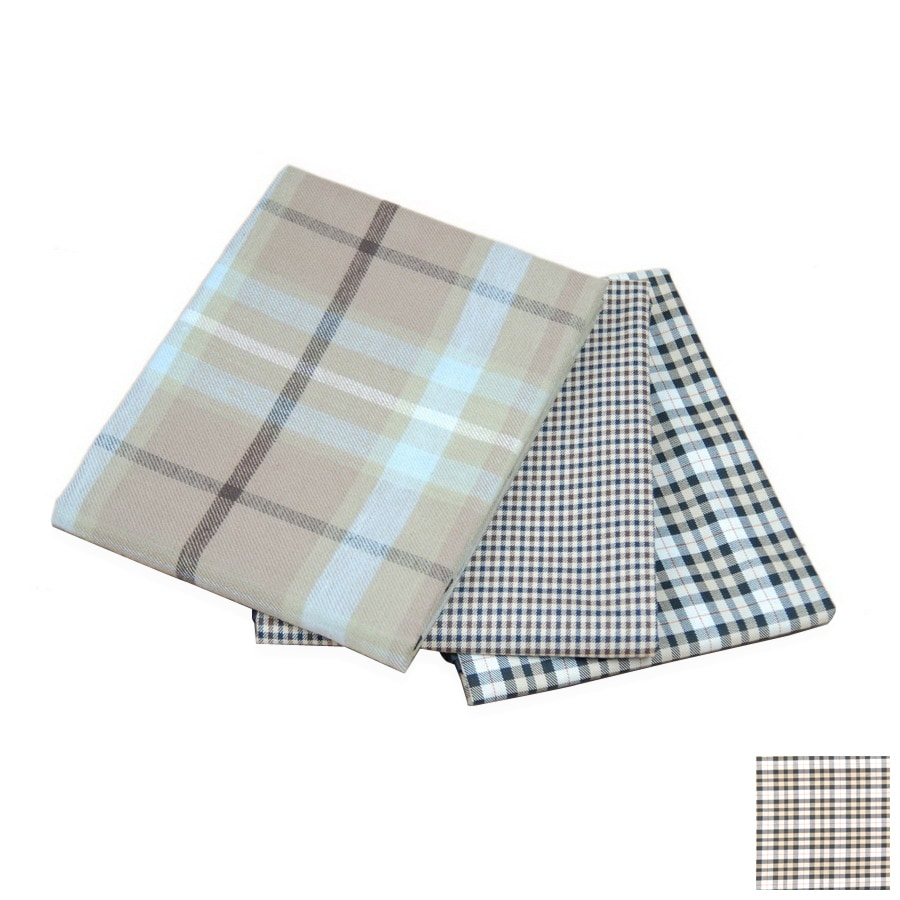 Carolina Pet Company Watchmans Plaid Polyester with PVC Backing Rectangular Dog Bed