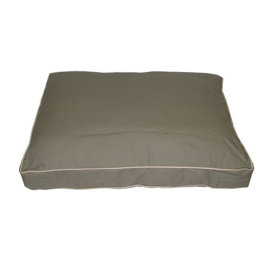 Carolina Pet Company Sage Cotton Twill Rectangular Dog Bed