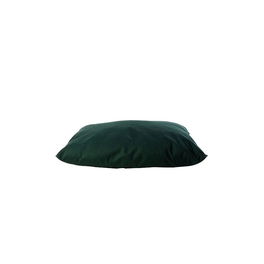 Carolina Pet Company Solid Green Polyester Rectangular Dog Bed