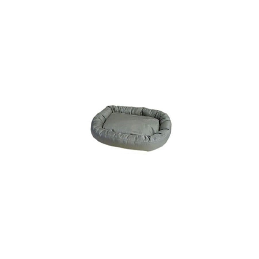 Carolina Pet Company Khaki Oval Dog Bed
