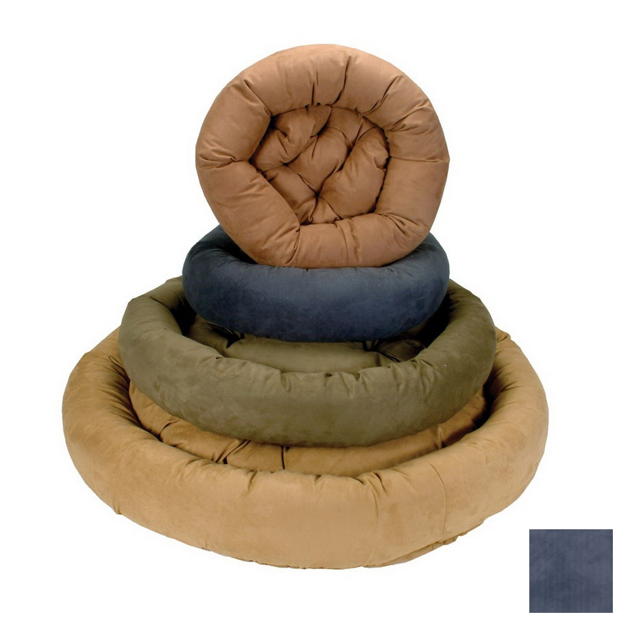 Snoozer Navy Round Dog Bed