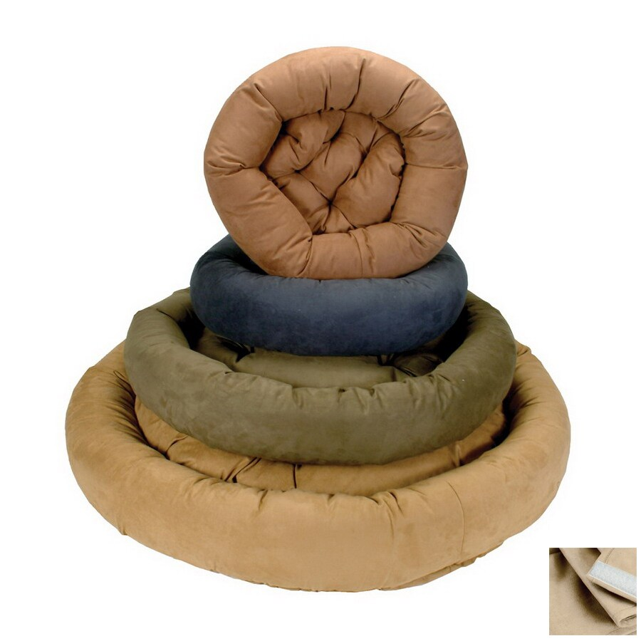Snoozer Buckskin Round Dog Bed