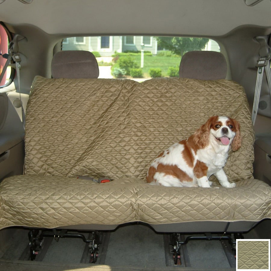 Snoozer 58-in Khaki Fabric Seat Cover