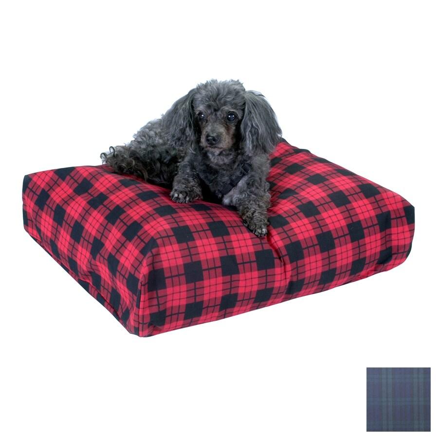Snoozer Blackwatch Plaid Polyester/Cotton Rectangular Dog Bed