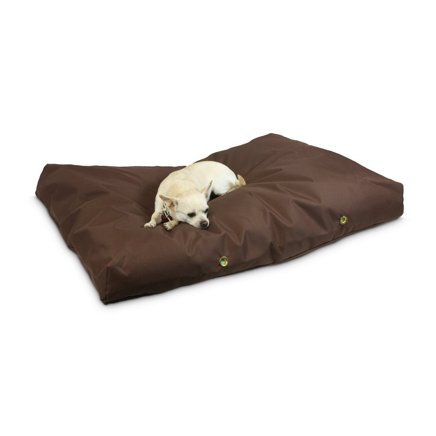 Snoozer Brown Polyester Rectangular Dog Bed