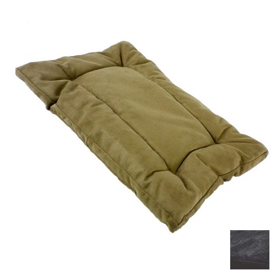 Snoozer Black Microsuede Rectangular Dog Bed