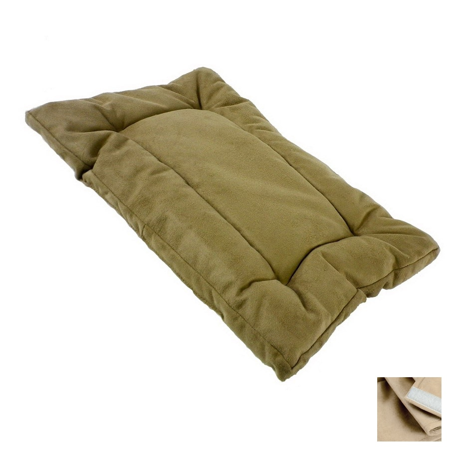 Snoozer Buckskin Microsuede Rectangular Dog Bed