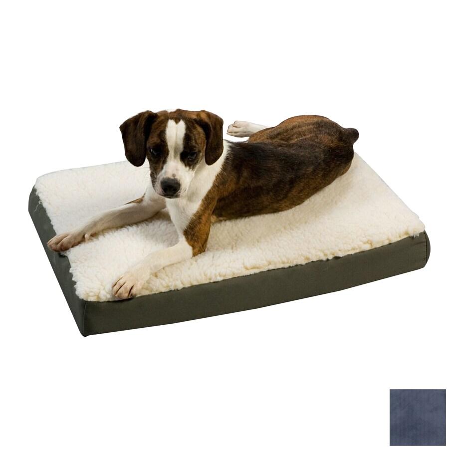 Snoozer Black/Navy Polyester/Cotton Rectangular Dog Bed