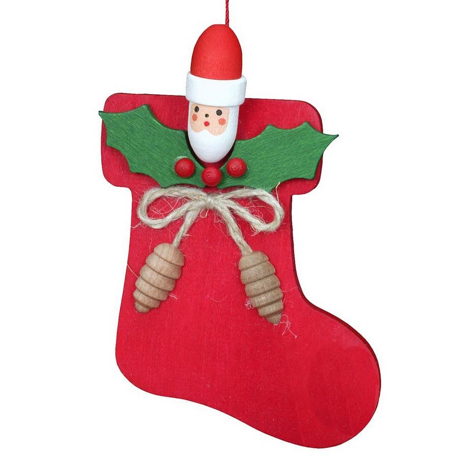 Alexander Taron 3.5-in Santa Christmas Stocking