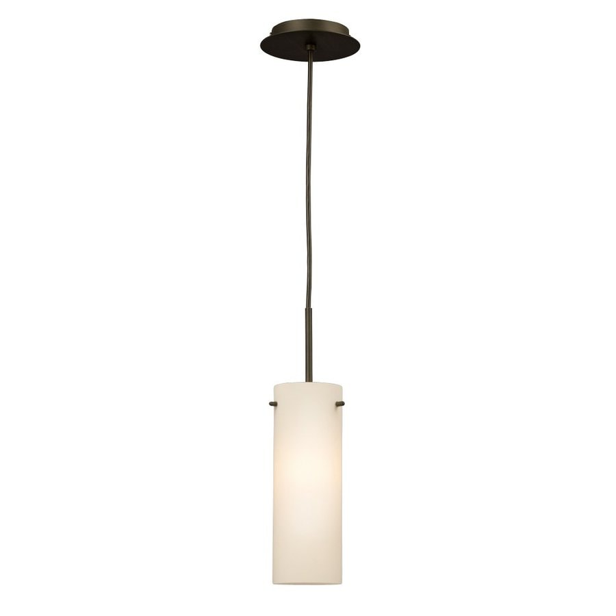 Galaxy 4.25-in Oil-Rubbed Bronze Industrial Mini Cylinder Pendant