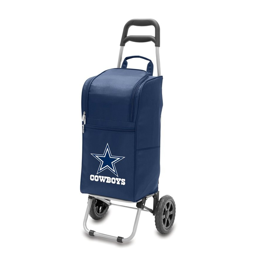 Picnic Time 15-Quart Dallas Cowboys Wheeled Polyester Cart Cooler