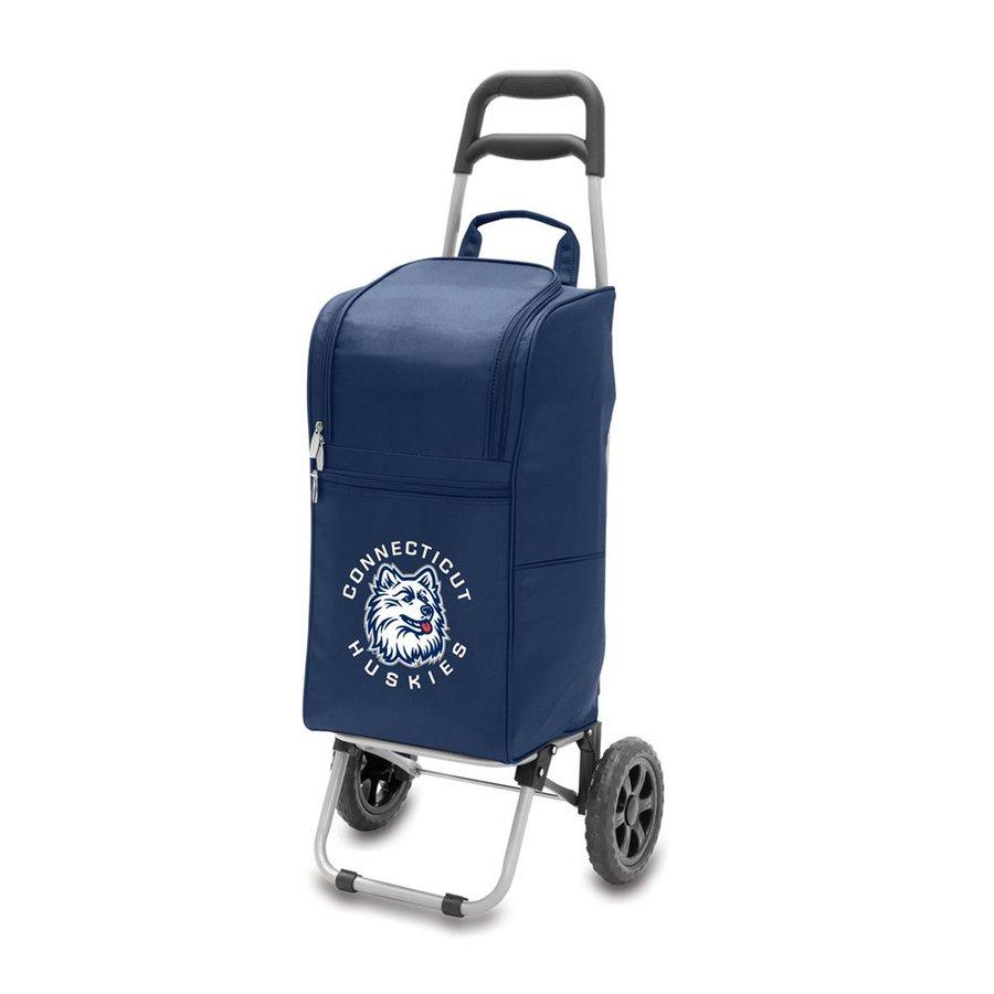 Picnic Time 15-qt Uconn Huskies Wheeled Polyester Cart Cooler