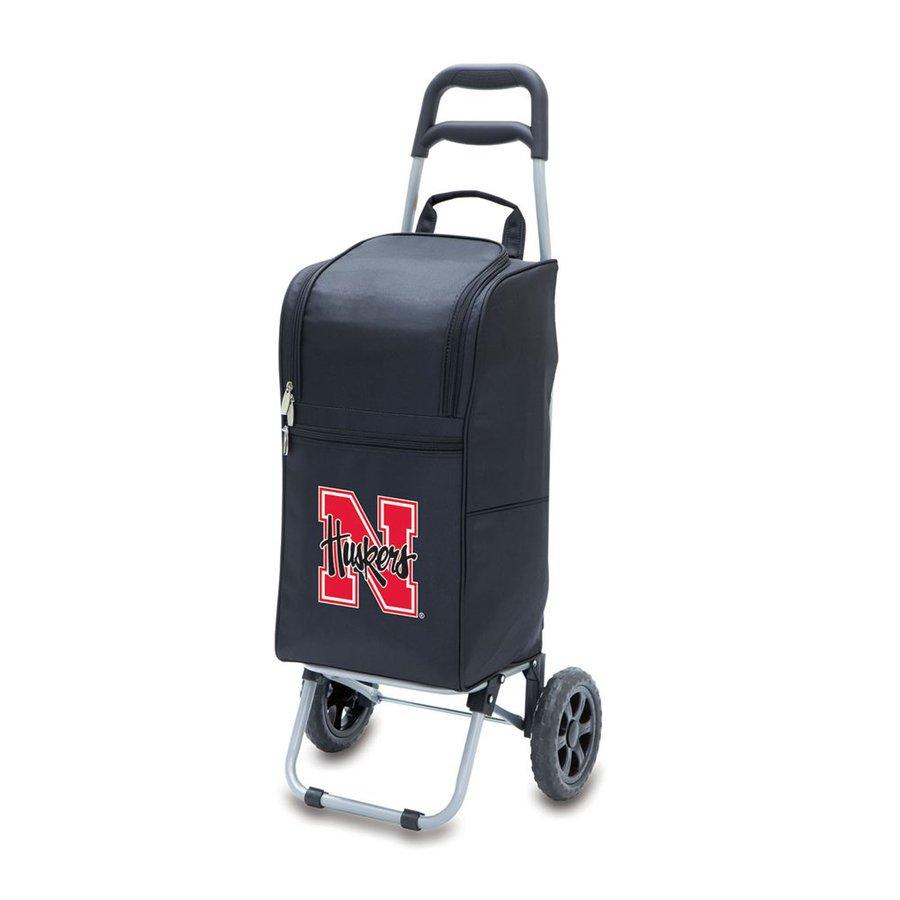 Picnic Time 15-qt Nebraska Cornhuskers Wheeled Polyester Cart Cooler