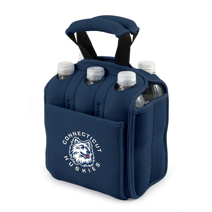 Picnic Time 120-fl oz UConn Huskies Neoprene Bag Cooler