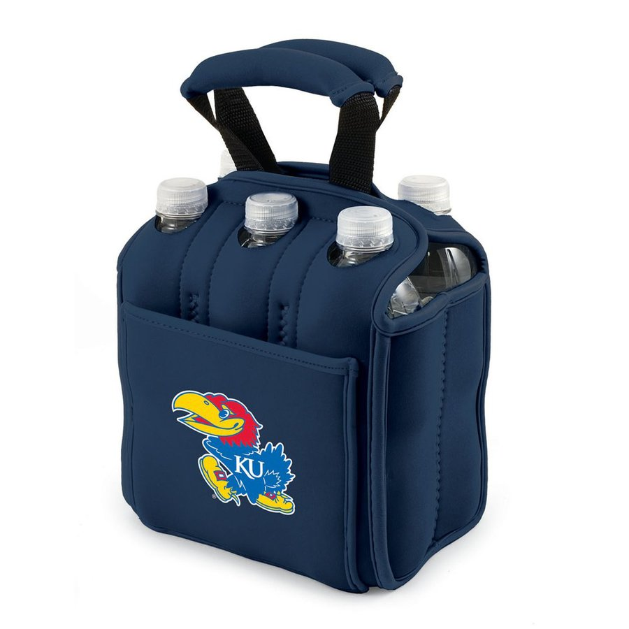 Picnic Time 120-fl oz Kansas Jayhawks Neoprene Bag Cooler