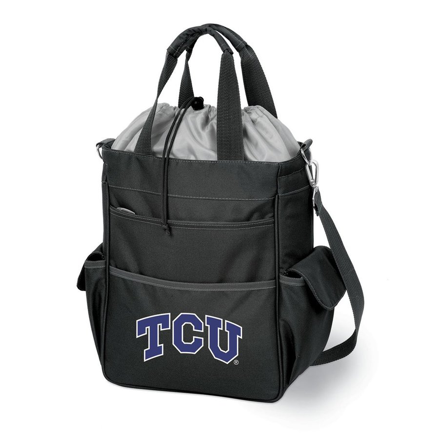 Picnic Time 2-Gallon TCU Horned Frogs Polyester Bag Cooler