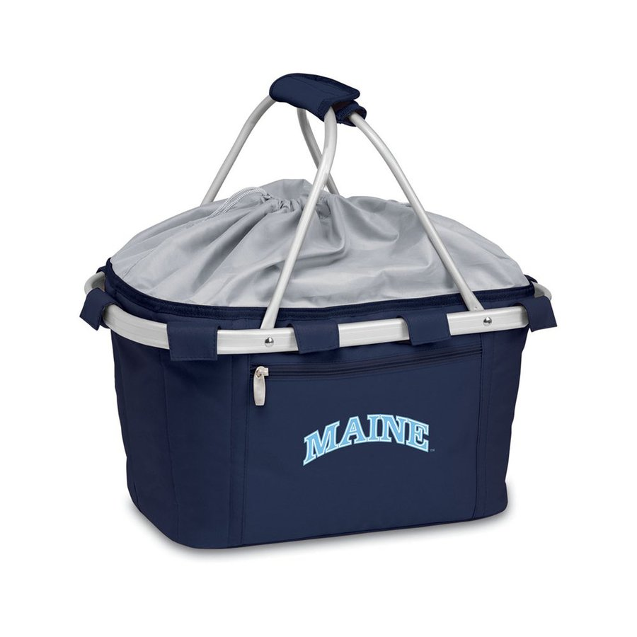 Picnic Time 3-Gallon Maine Black Bears Polyester Personal Cooler