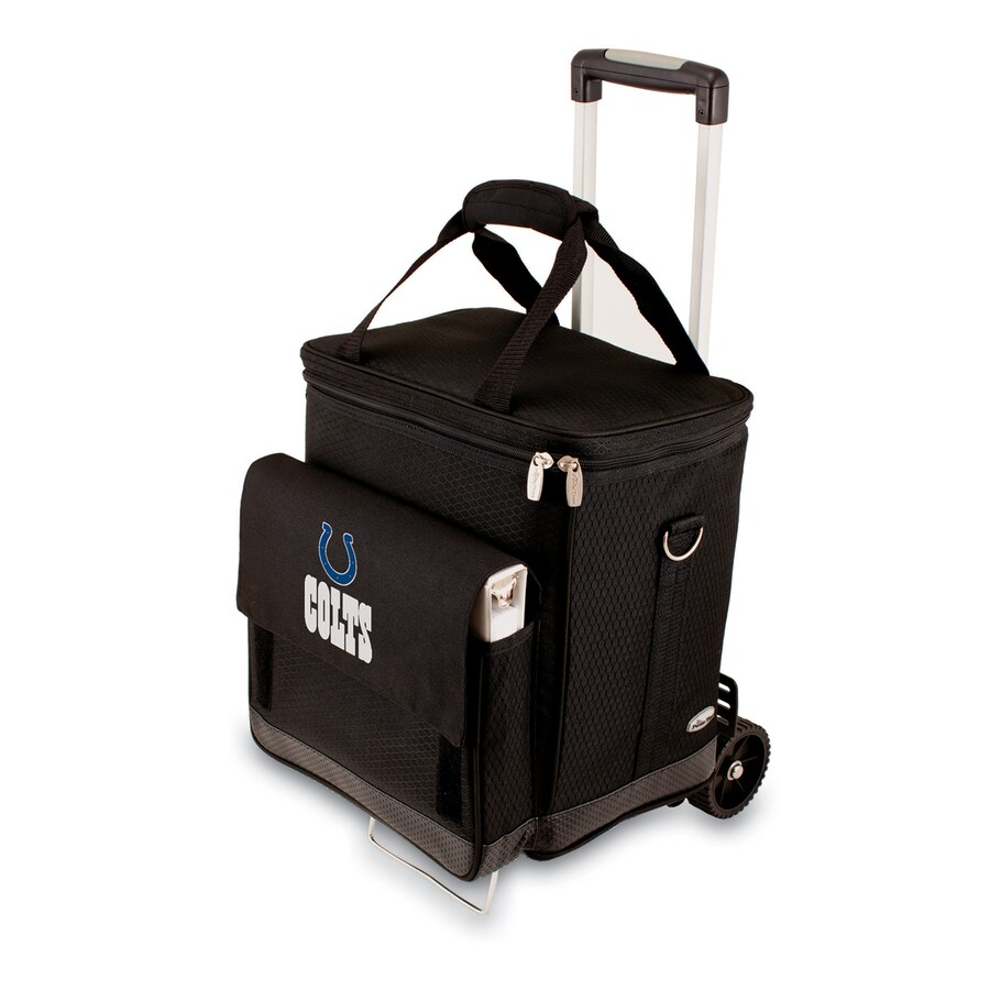 Picnic Time Indianapolis Colts Wheeled Polyester Cart Cooler