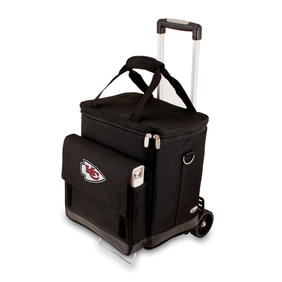 Picnic Time Kansas City Chiefs Wheeled Polyester Cart Cooler