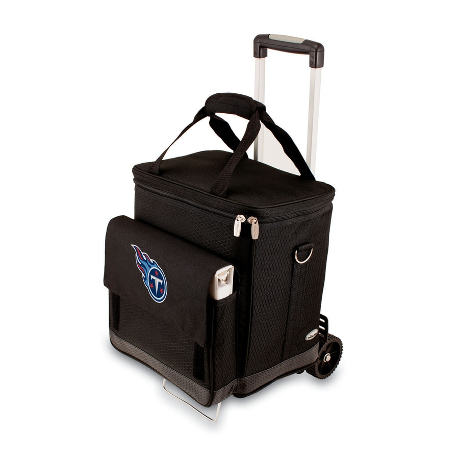 Picnic Time Tennessee Titans Wheeled Polyester Cart Cooler