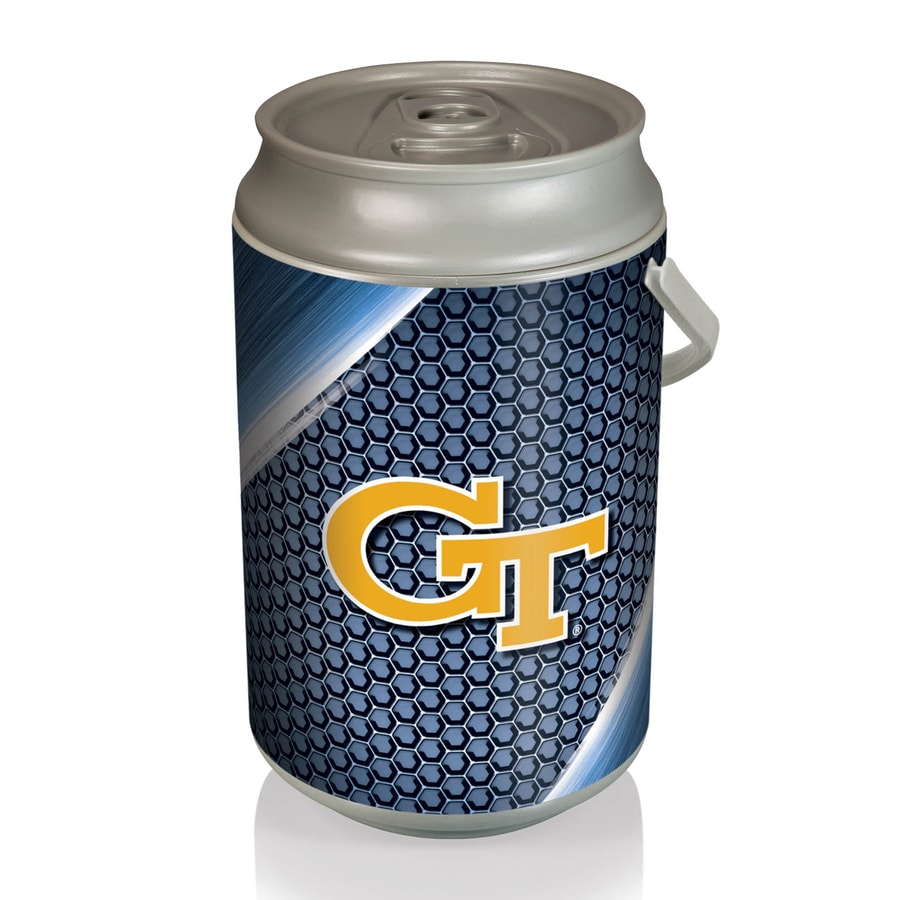 Picnic Time 5-gal Georgia Tech Yellow Jackets Plastic Personal Cooler