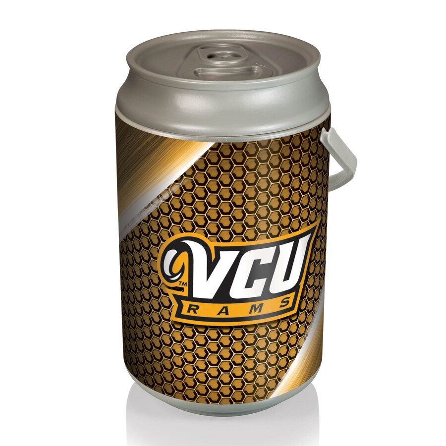 Picnic Time 5-gal VCU Rams Plastic Personal Cooler