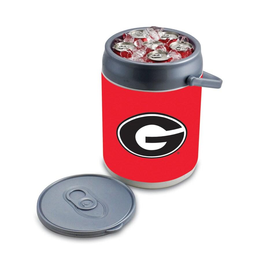 Picnic Time Georgia Bulldogs 9-qt Plastic Chest Cooler