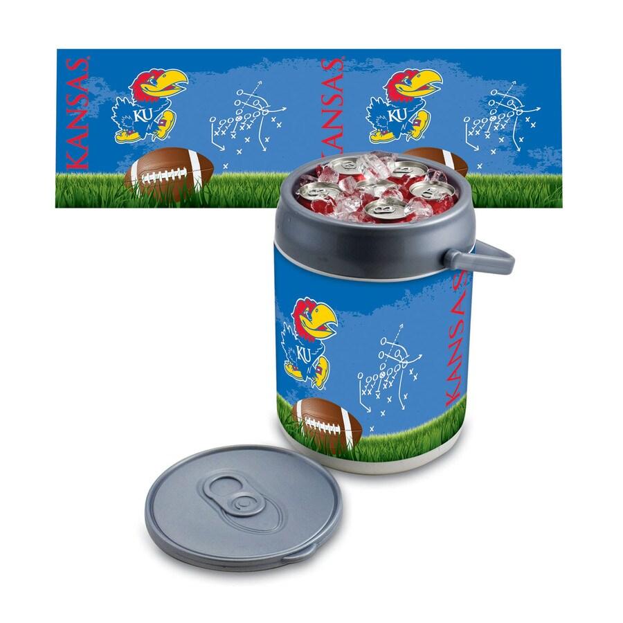 Picnic Time Kansas Jayhawks 9-qt Plastic Chest Cooler