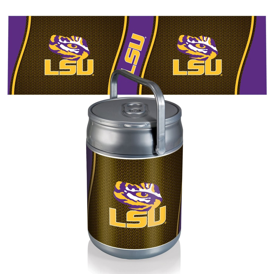 Picnic Time LSU Tigers 9-qt Plastic Chest Cooler