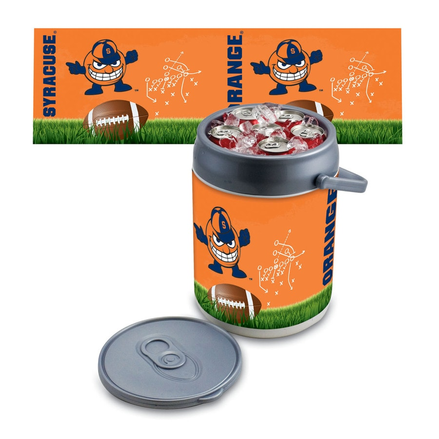 Picnic Time Syracuse Orange 9-qt Plastic Chest Cooler