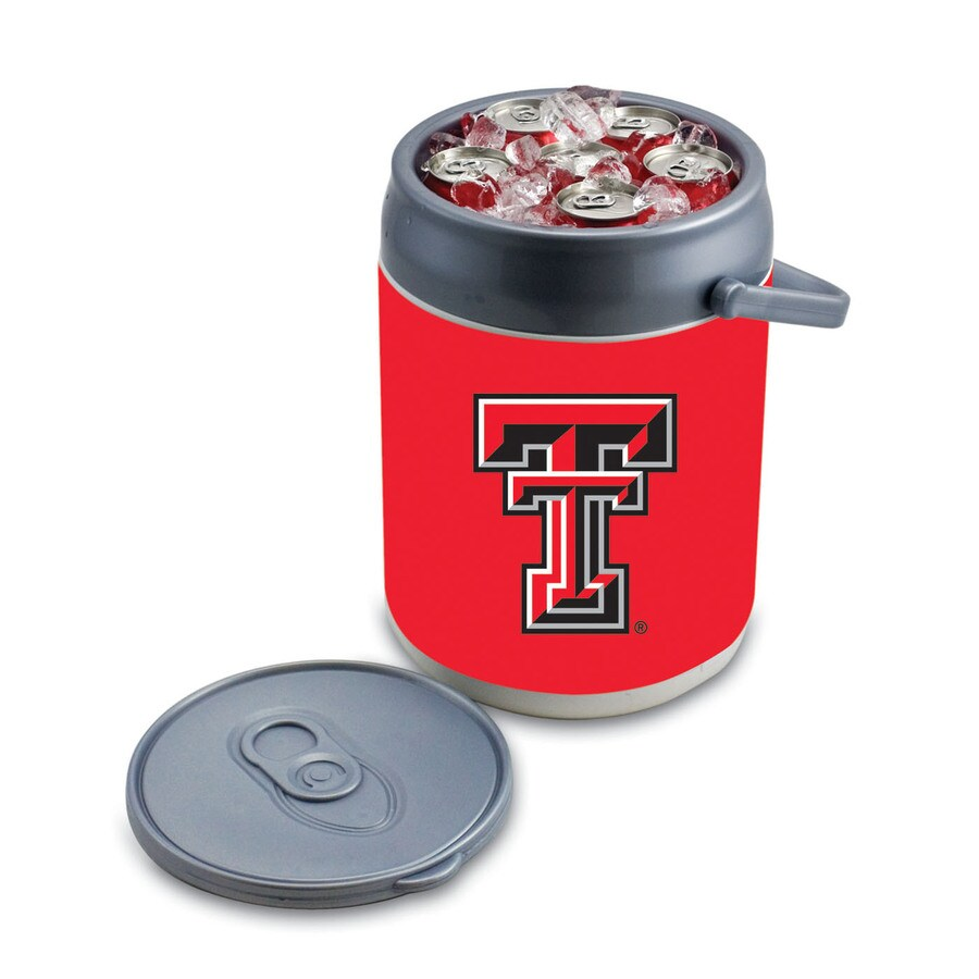 Picnic Time Texas Tech Red Raiders 9-qt Plastic Chest Cooler