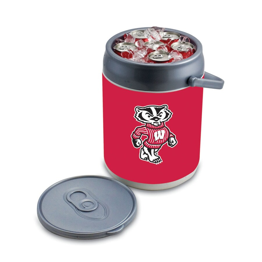 Picnic Time Wisconsin Badgers 9-qt Plastic Chest Cooler