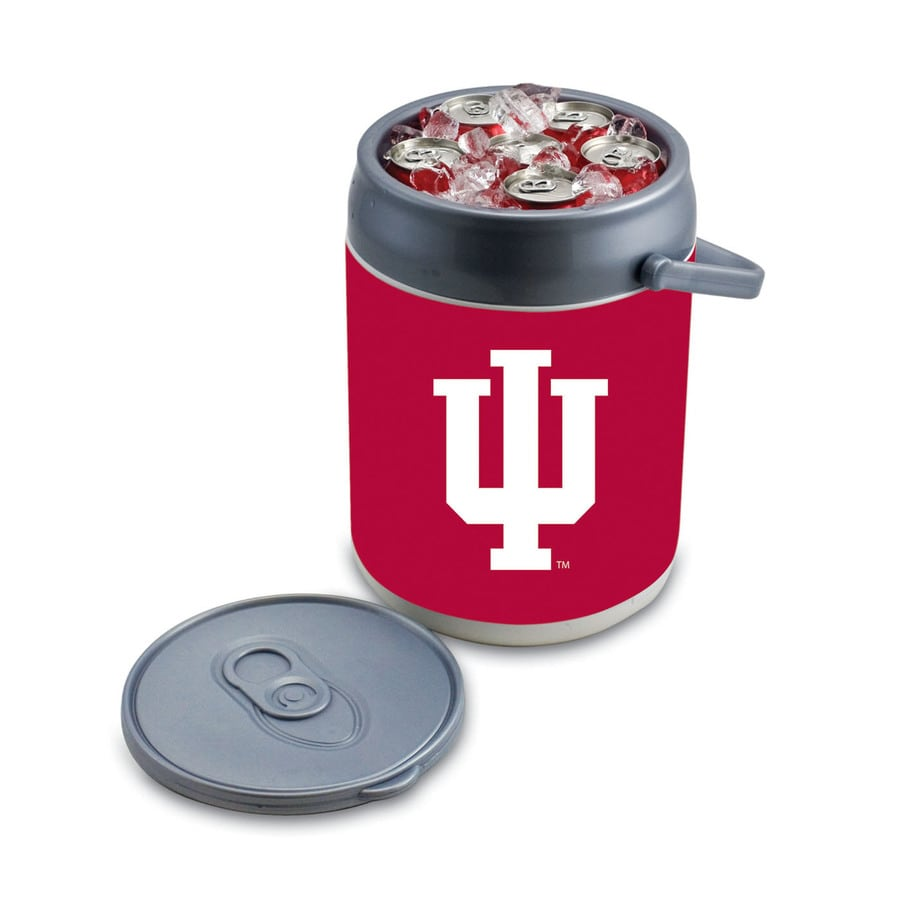 Picnic Time Indiana Hoosiers 9-qt Plastic Chest Cooler