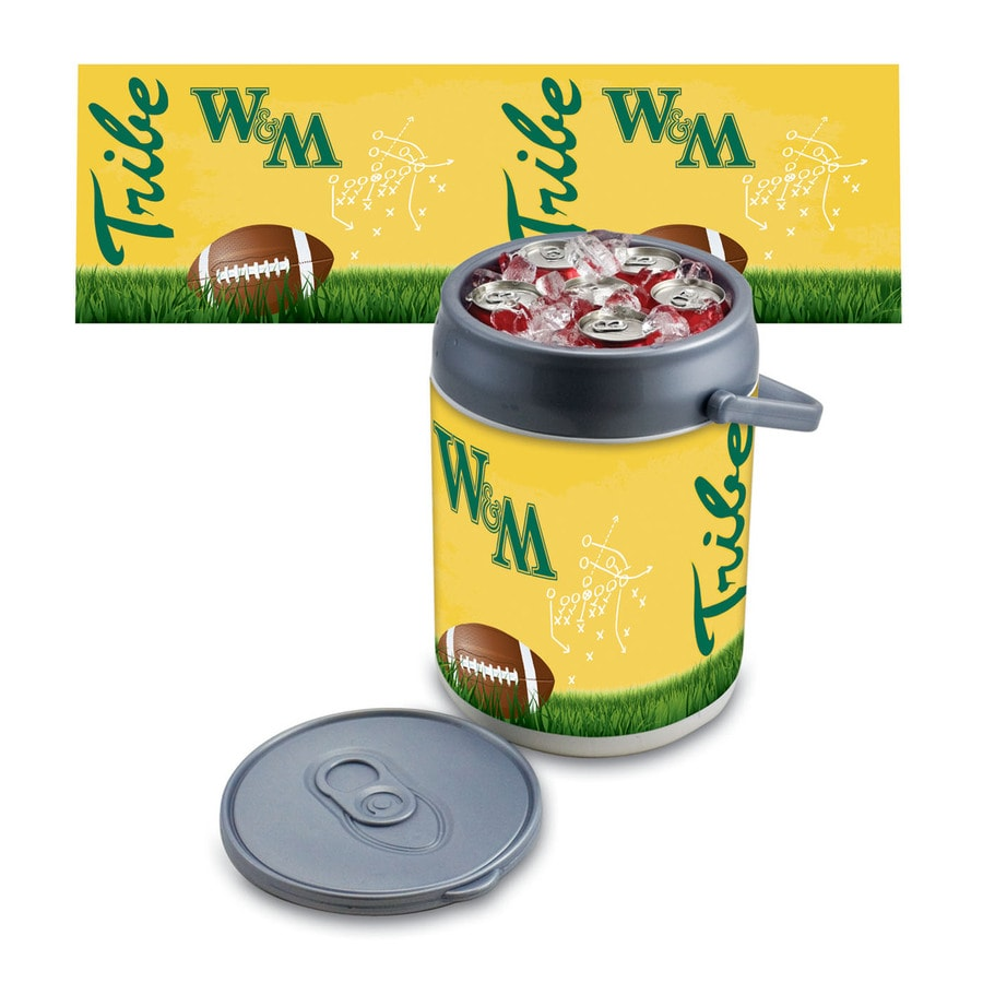 Picnic Time William and Mary Tribe 9-qt Plastic Chest Cooler