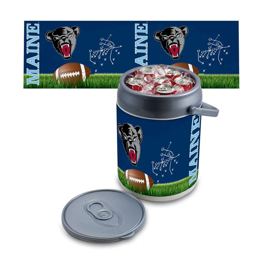 Picnic Time Maine Black Bears 9-qt Plastic Chest Cooler